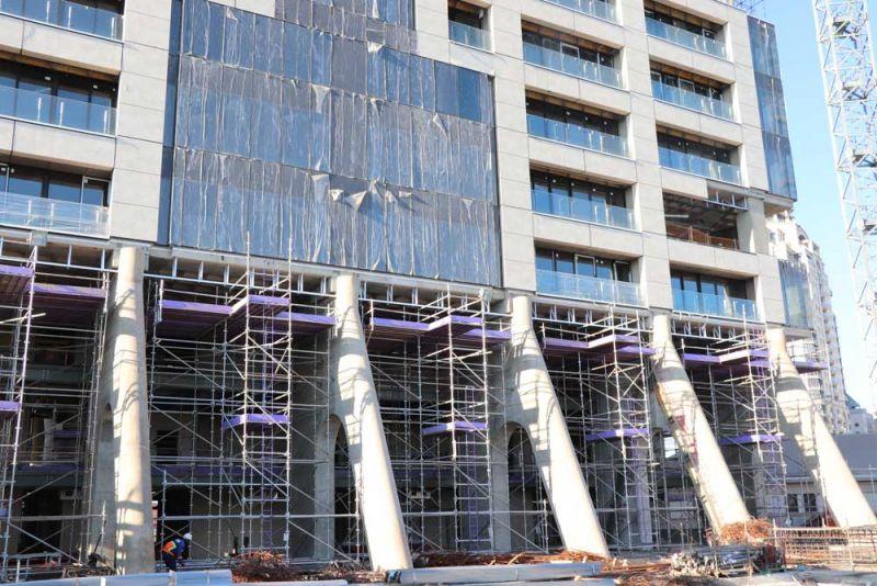 arquitectura the leonardo sandton rascacielos construccion