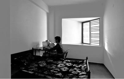 arquitectura_The Street_Sanjay Puri Architects_habitación