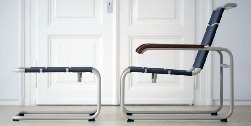 Thonet All Seasons. Sillas de exterior de inspiración Bauhaus ...