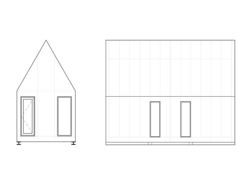 arquitectura_Tiny House Slow Town_alzados