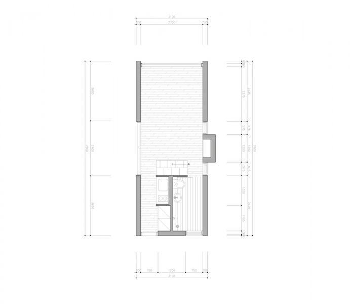 arquitectura_Tiny House Slow Town_planta,