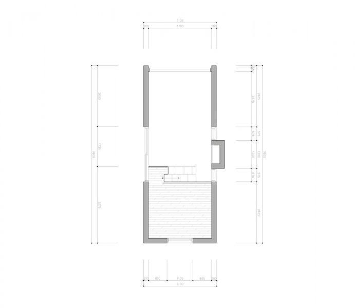 arquitectura_Tiny House Slow Town_planta