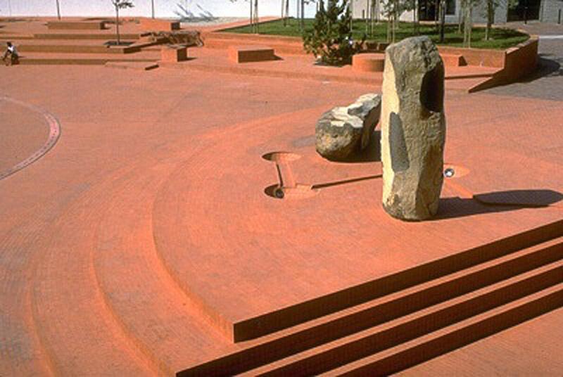 Arquitectura_Isamu Noguchi _ To the Issei, Los Angeles.1980-83