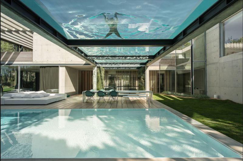 ARQUITECTURA TOP RANKING piscians integradas en la arquitectura