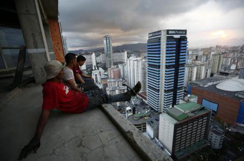 Arquitectura_Torre David_Caracas_ imagen terrazas