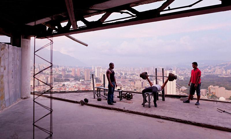 Arquitectura_Torre David_Caracas_ imagen de una planta