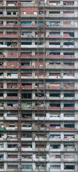 Arquitectura_Torre David_Caracas_ imagen del abandono