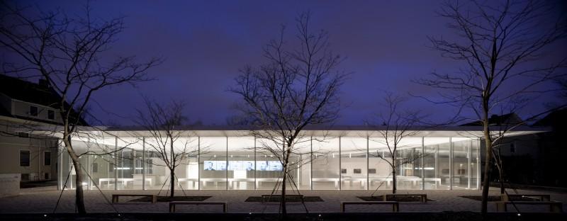 Arquitectura_Toshiko Mori_Darwin D. Martin House Visitor Center
