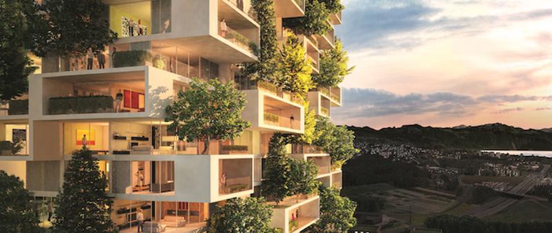 arquitectura, arquitecto, sostenible, sostenibilidad, fachada, diseño, minimalista, verde, perenne
