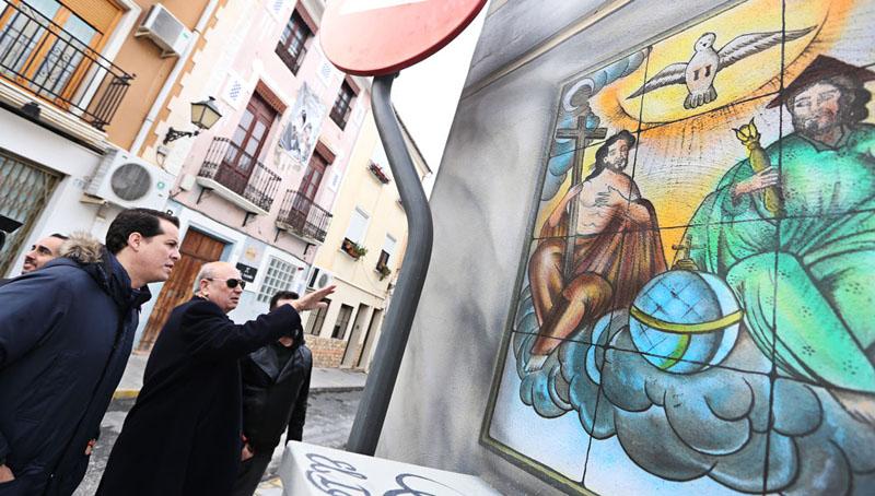Arquitectura visita a los murales finalizados Elda