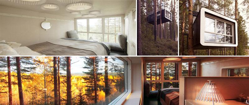 arquitectura, treehotel, diseño nórdico, Sandell&Sandberg, Interior Group AB, Marten Cvrene, Inredningsgruppen, Tham & Videgard Architects
