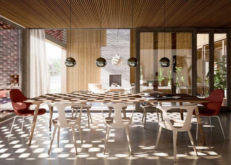 arquitetura Batay-Csorba Architects Triple Duplex Toronto renders Norm Li