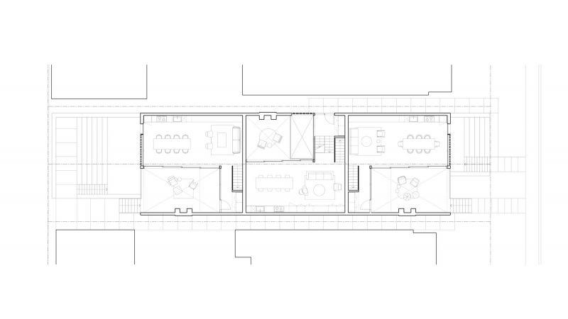 arquitetura Batay-Csorba Architects Triple Duplex Toronto planta baja+