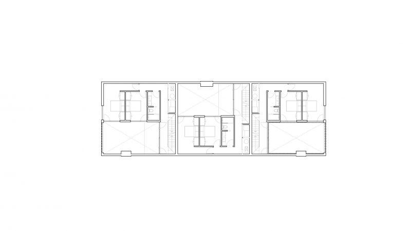 arquitetura Batay-Csorba Architects Triple Duplex Toronto planta primera