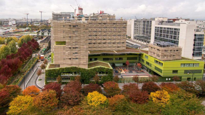 arquitectura verde_eco barrio_clichy batignolles_arquitectura_Bruno Levesque