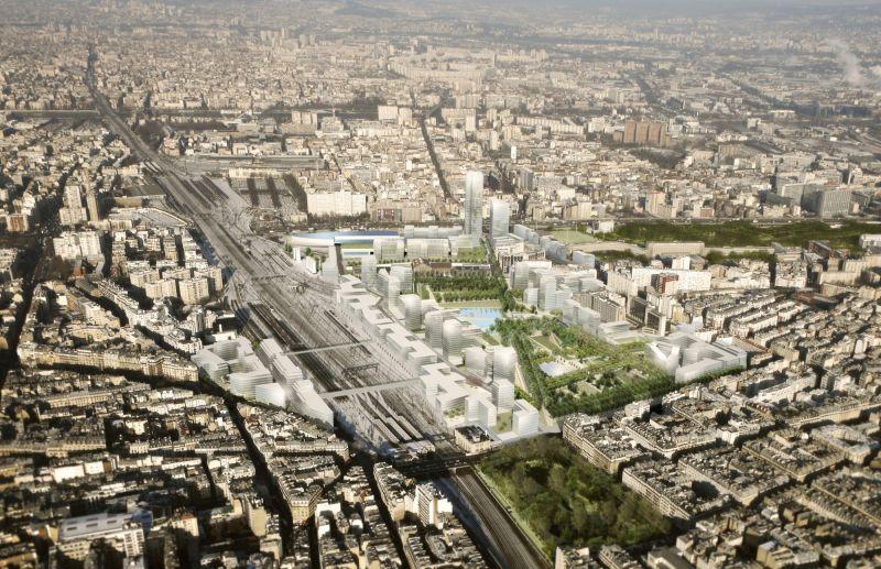 arquitectura verde_eco barrio_clichy batignolles_render proyecto