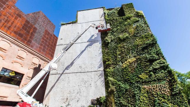 arquitectura verde_Patrick Blanc_Caixa Forum