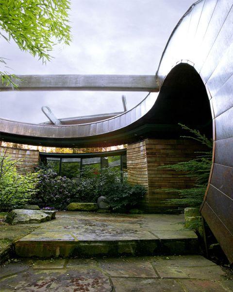 arquitectura verde_Wilkinson House acceso