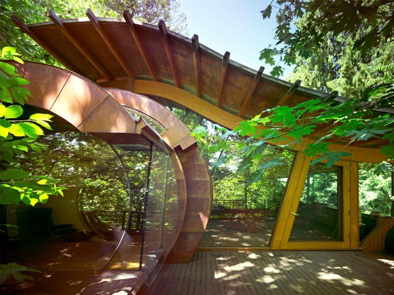 arquitectura verde_Wilkinson House piel de vidrio