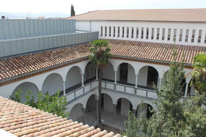 De hospital a escuela de arquitectura v ctor l pez cotelo - Colegio arquitectos granada ...