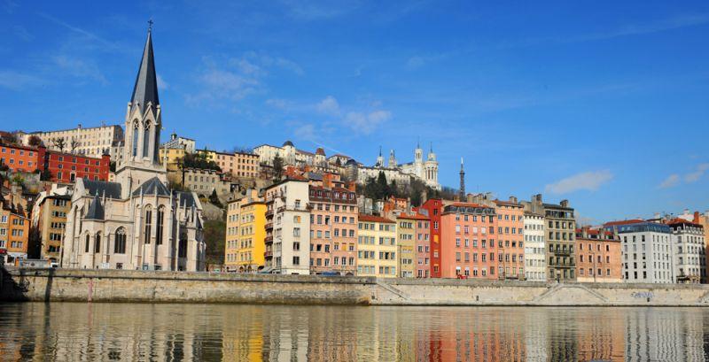 Vieux Lyon. Fotografía: Muriel Chaulet
