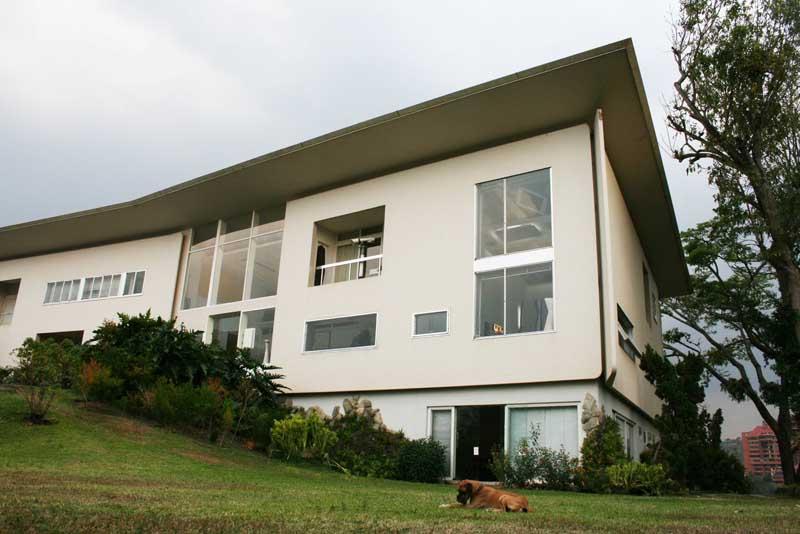 Arquitectura_Villa Planchart _G.Ponti -vista de la vivienda