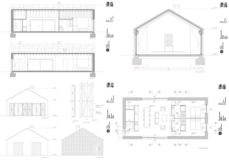 arquitectura_villa slow_plantas