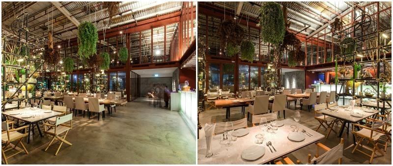 arquitectura, arquitecto, design, diseño, interior, interiorismo, restaurante, Hypothesis Design Agency, Vivarium, Bangkok, Tailandia, cocina fusión, plantas, vivero