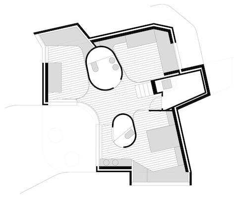 arquitectura_vivienda en Sanxenxo_HH arquitectos_planta