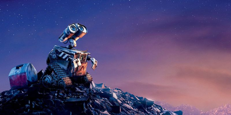 Fotograma de la película WALL-E. Pixar Animation Studios