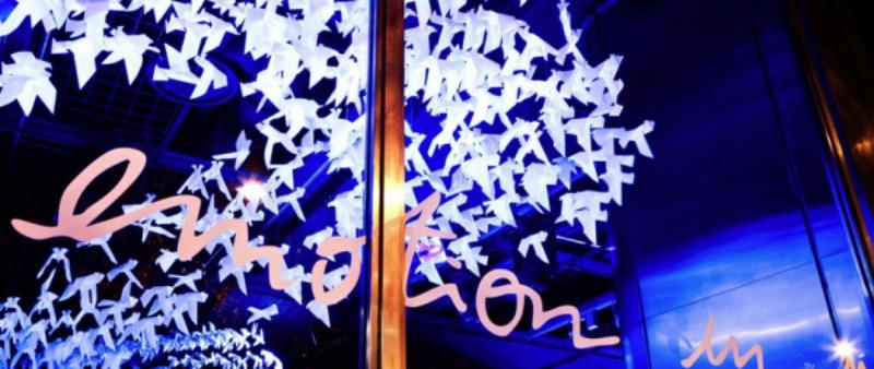 arquitectura, arquitecto, diseño, design, Wanda Barcelona, arquitectura efímera, Barcelona, internacional, papel, cartón, origami, Dior, Hermés, manualidades, Louis Vuitton, Lladró, Adidas, Guerlain, Bentley, Renault