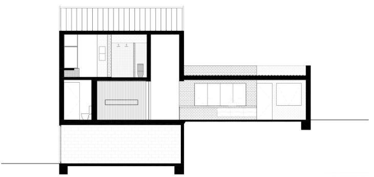 Casa A, un prototipo de vivienda mínima y sostenible de Whispering Smith.