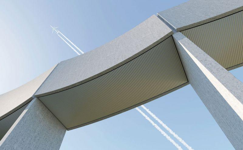 arquitectura White Arkitekter VAGA imagen paneles curvos