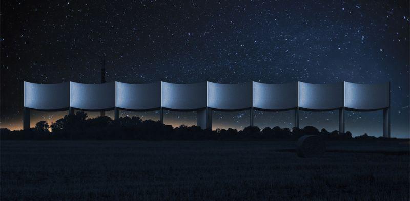 arquitectura White Arkitekter VAGA imagen nocturna general