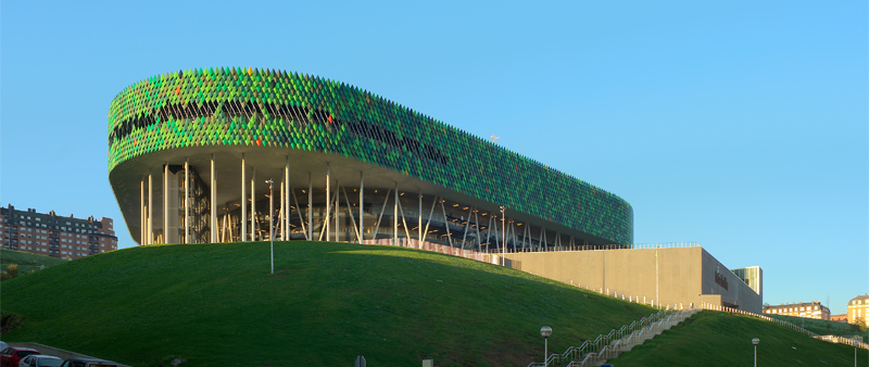 arquitectura, arquitecto, diseño, design, Wicona, fachadas, eficiencia energética, sostenibilidad, sostenible, ecología, edificios verdes, Bilbao Arena, Javier Pérez Uribarri, Nicolás Espinosa Barrientos, Miribilla