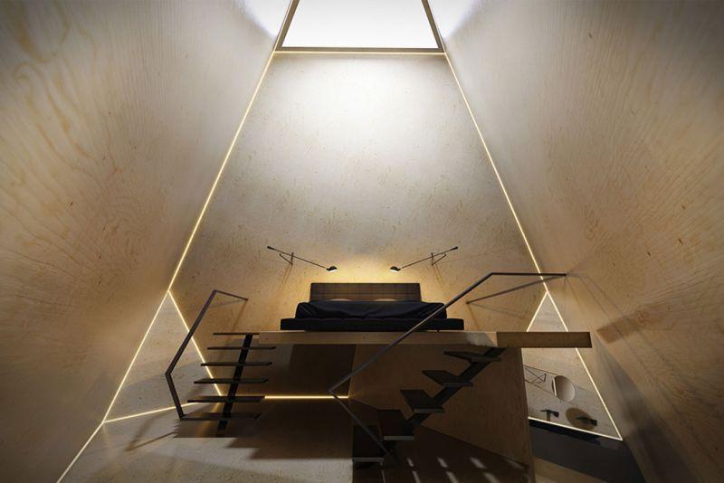 arquitectura tetra hotel wsp ingenieria imagen habitacion