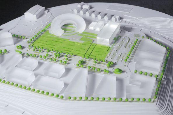 Arquitectura_Xabier Barrutieta_Orona Ideo maqueta