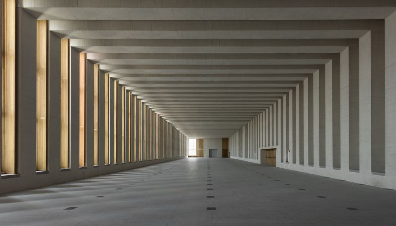 Interior del muso de las coleciones reales