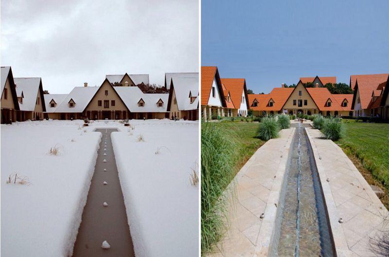 Universidad Al Akhawayn entre el verano y el invierno