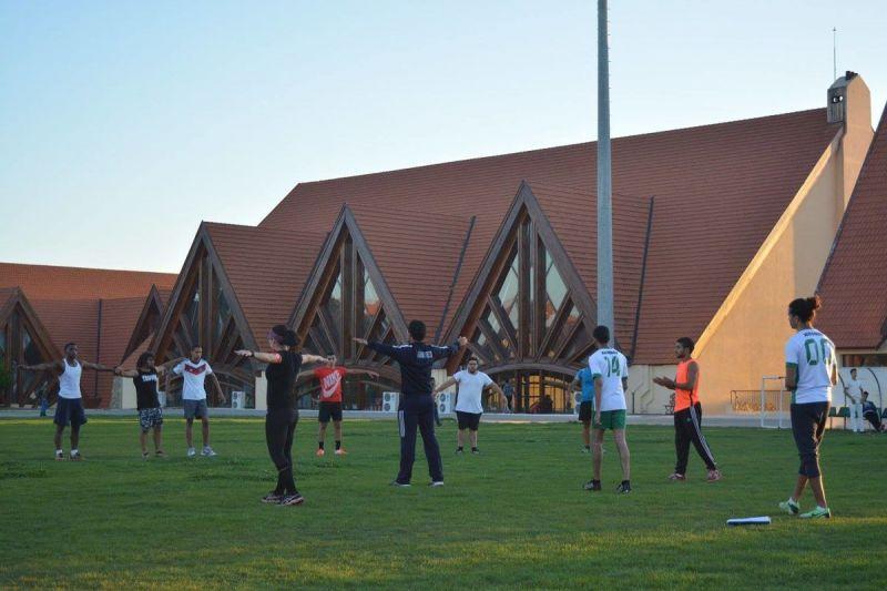 Equipo de rugby de universidad Al Akhawayn