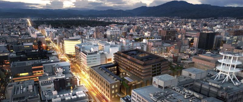 Arquitectura y Empresa, Ace Hotel Kyoto, Kengo Kuma, Japón, arquitectura japonesa, Japan, arquitectura hotelera, tradicional, diseño, diseño de interiores