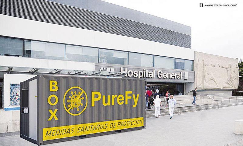 arquitectura airlite purebox render figuracion en espacio exterior