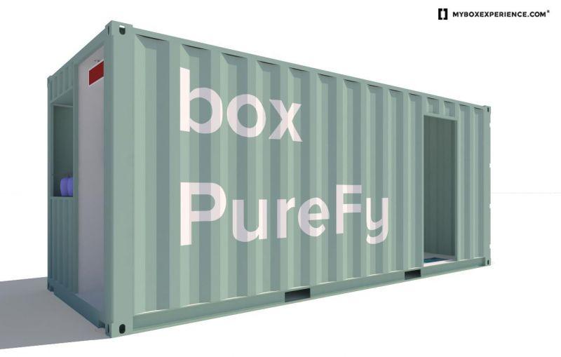 arquitectura airlite purebox render container exterior