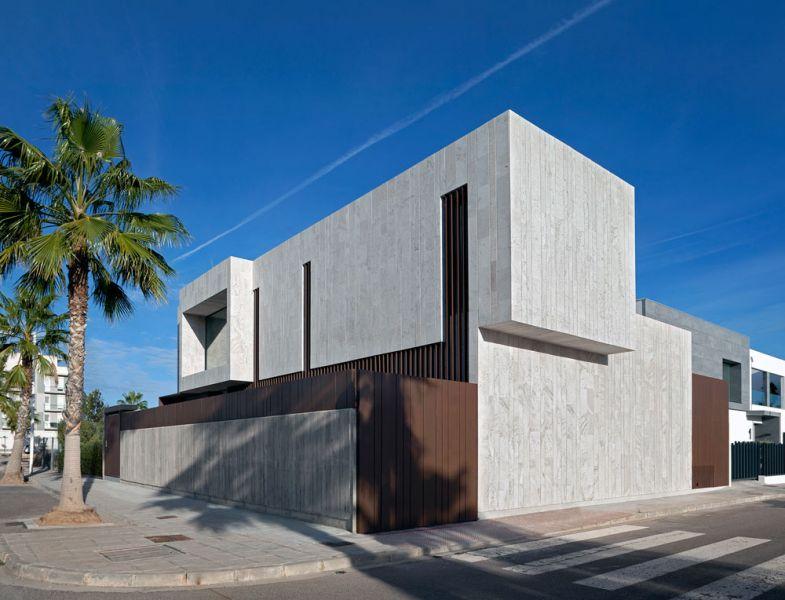 arquitectura casa alqueria antonio altarriba che cuerpos huecos fotografia exterior esquina