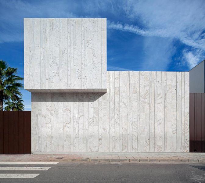 arquitectura casa alqueria antonio altarriba che cuerpos huecos fotografia exterior alzado lateral