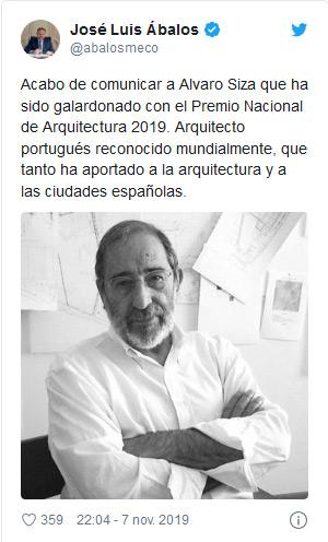 arquitectura alavaro siza premio nacional de arquitectura cuenca II congreso tuit
