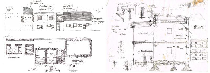 Anna Heringer - Centro de Formación DESI (planos)