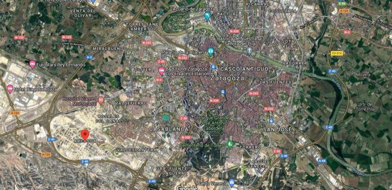 Vista Global Zaragoza - Google Maps