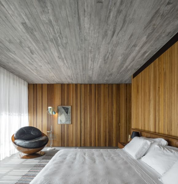 MK27 - Marcio Kogan - Lair Reis_Casa Plana_Interior dormitorio