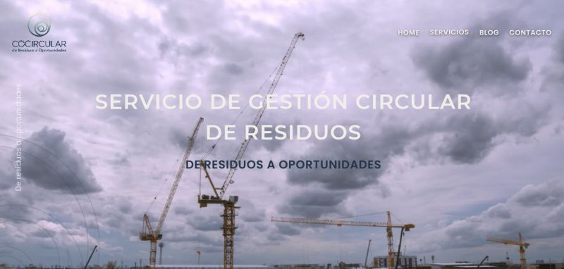 Empresa de gestión de residuos Cocircular